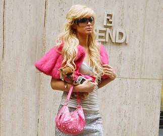 paris hilton 2000s fashion