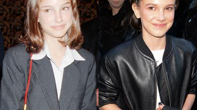 10 Pictures That Prove Millie Bobby Brown Is Actually Natalie Portman's Clone