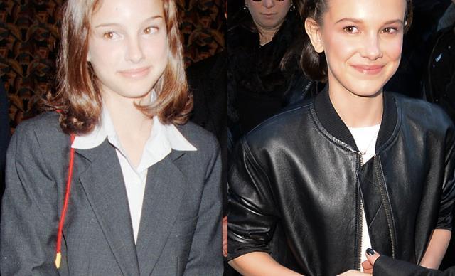Natalie Portman Millie Bobby Brown