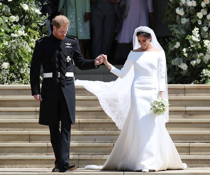 Replicas Of Meghan Markle's Wedding Dress Are Beginning To Emerge