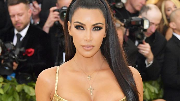 Kim Kardashian West Wears A Nearly Naked Dress To Walk The Streets