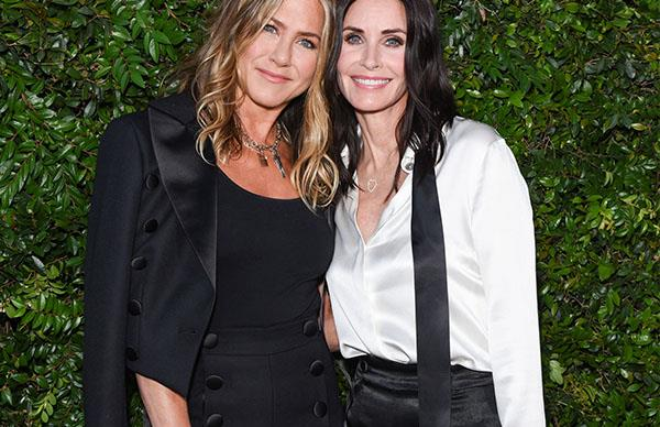 There Was An Adorable 'FRIENDS' Reunion At Chanel This Weekend
