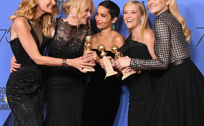 This New Photo Proves That The 'Big Little Lies' Cast Are Friends Both On And Off The Set