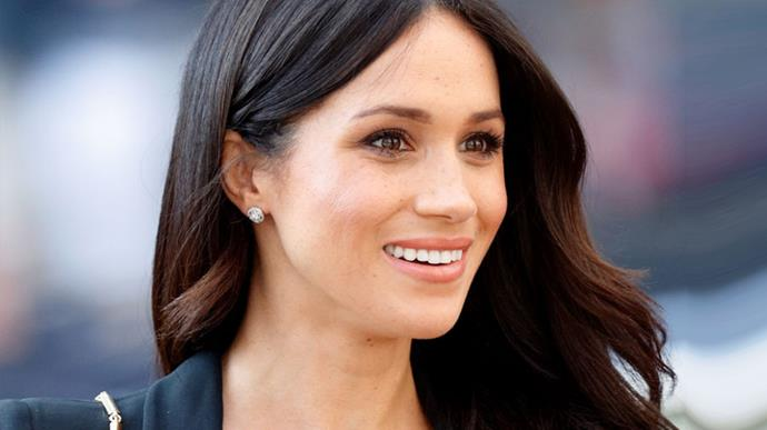 A Sneak Peek Inside Meghan Markle's Makeup Bag