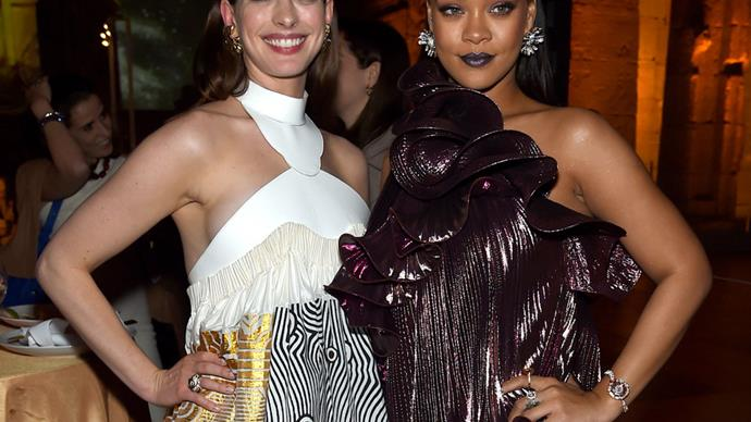 Anne Hathaway Felt Insecure About Her Body Until Rihanna Gave Her The Ultimate Compliment