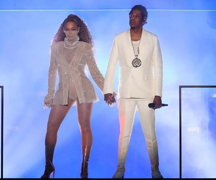 Beyoncé & JAY-Z Share Nude Photo In Tour Book | HipHopDX