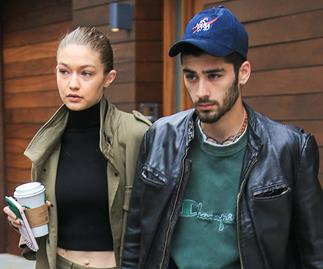 Gigi Hadid and Zayn Malik on Instagram.