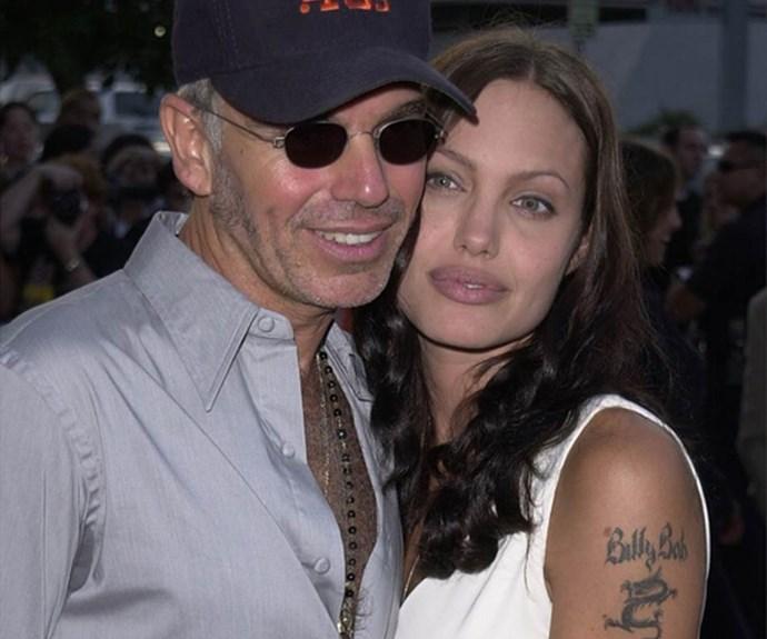 Angelina Jolie and Billy Bob Thornton.