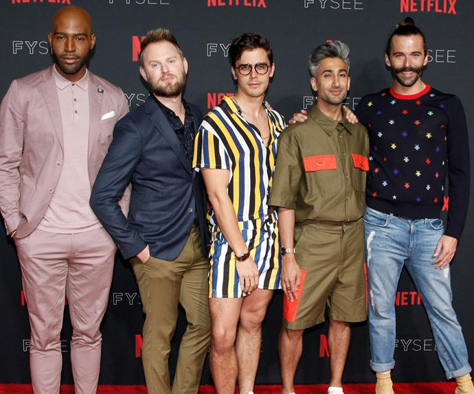 queer eye cast before and after