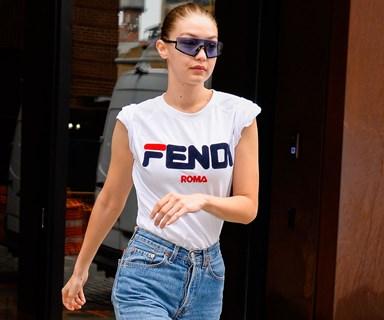 Gigi Hadid's Latest Footwear Choice Is Giving Us Serious Nineties Nostalgia