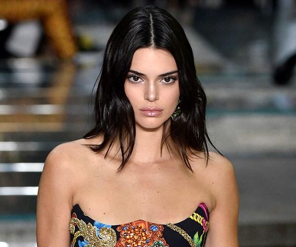 Kendall Jenner Versace show 2018