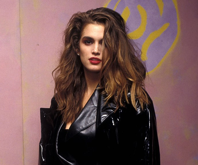 In The Nineties, Supermodel Cindy Crawford Used To Workout In Denim Shorts