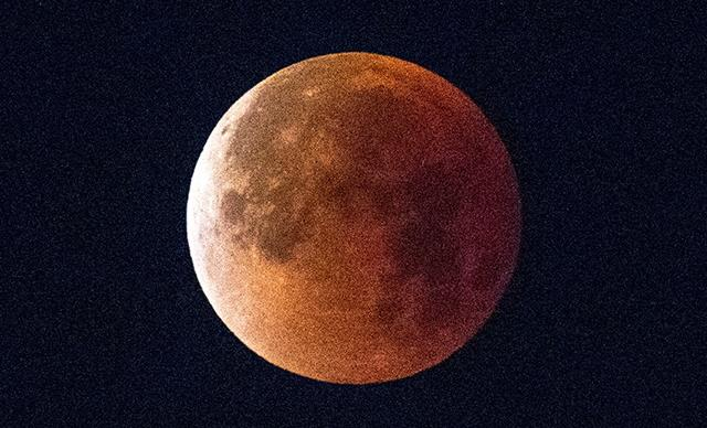 Red Blood Moon Lunar Eclipse