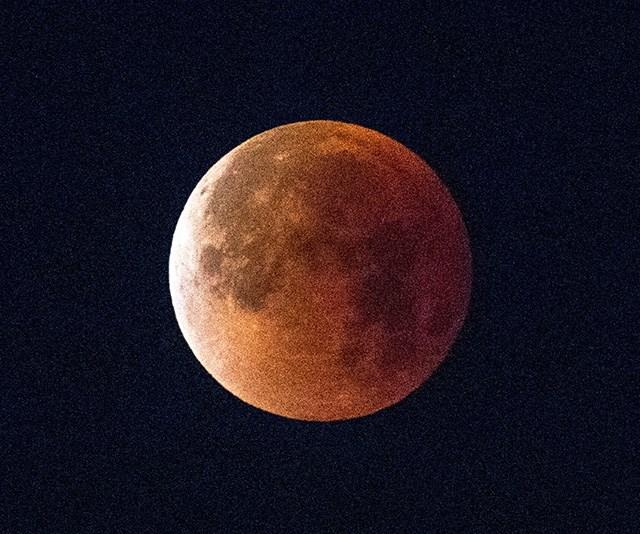 Red Blood Moon Lunar Eclipse
