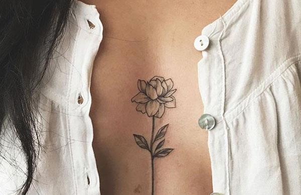 sternum tattoo twisted moi
