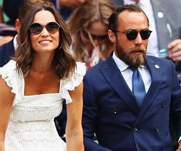 Pippa Middleton James Middleton Wimbledon