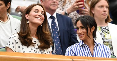 Meghan Markle And Kate Middleton Do Double Duchess Style At Wimbledon