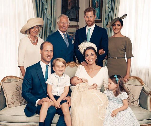 Did You See The Cutest Moment In Prince Louis' Christening Portrait?