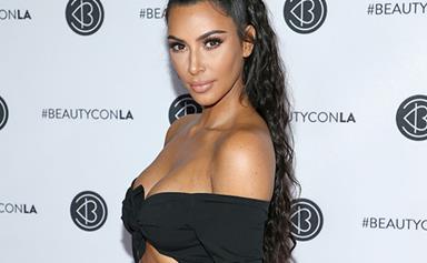 Kim Kardashian Takes Bike Shorts To The Red Carpet