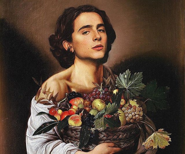 Timothée Chalamet Art Instagram