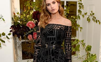Every Single Time Lily James' Style Was Polished Perfection