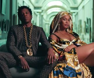 beyonce jay z apeshit video