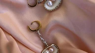 Pearl Earrings Are Back And They Look Nothing Like Your Grandma's