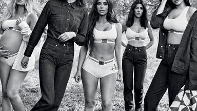 The Kardashian-Jenner Sisters Just Dropped Their Second Calvin Klein Campaign