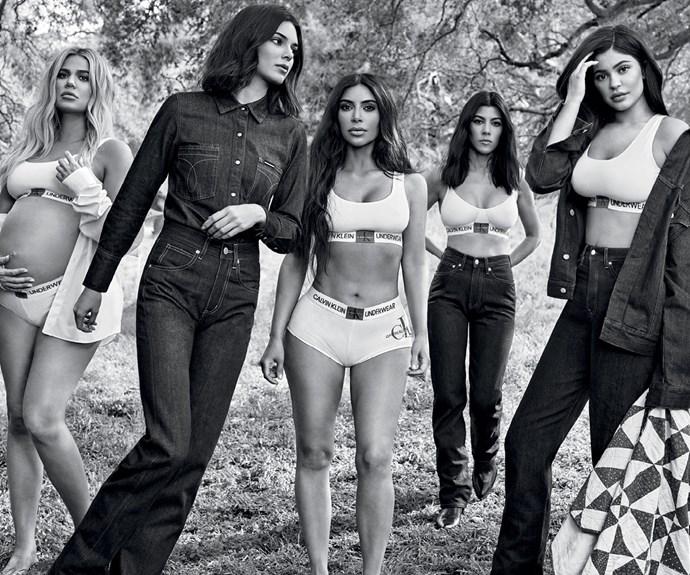 Calvin Klein Kardashian Jenner Campaign Fall 2018