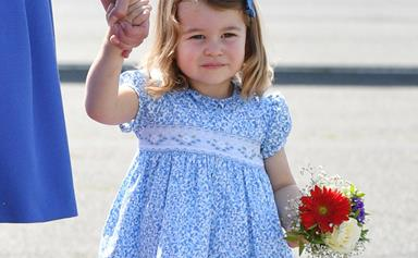 Why Kate Middleton Only Dresses Princess Charlotte In Dresses For Events
