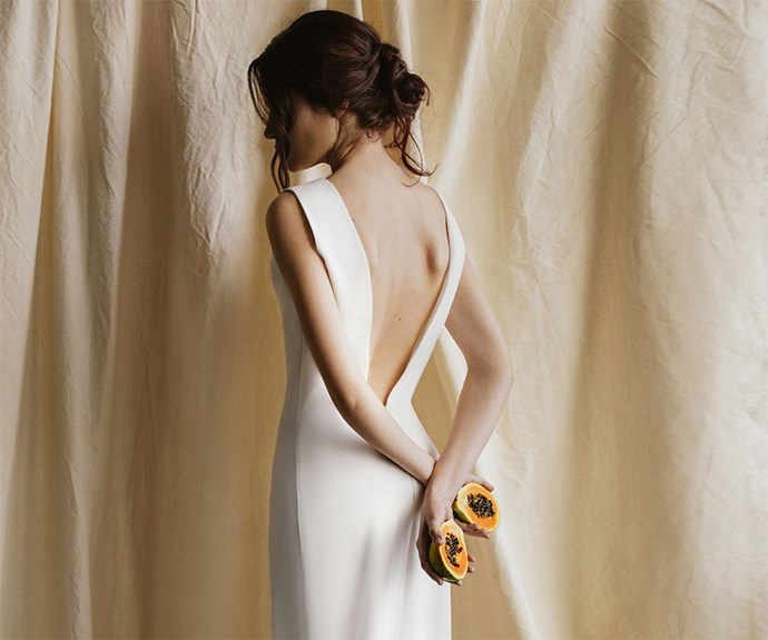 BeTwins wedding gown.
