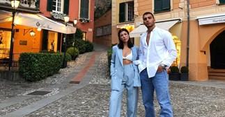 Kourtney Kardashian and Younes Bendjima.