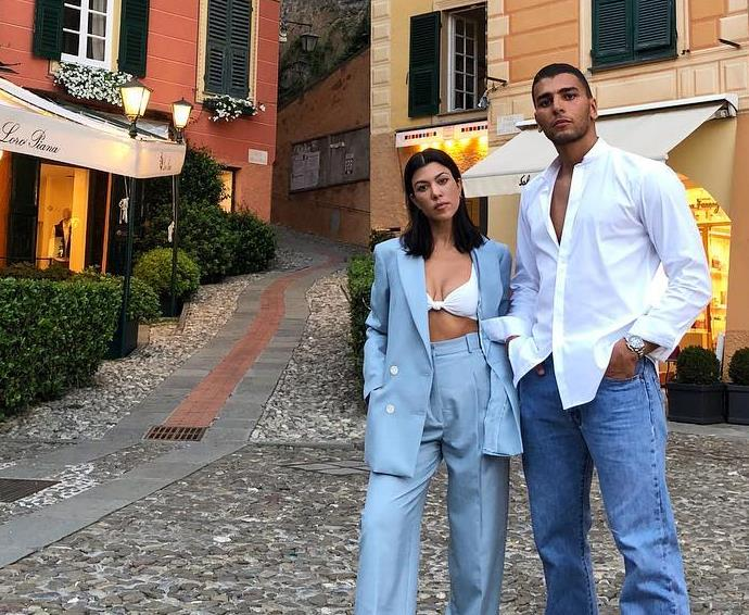 Kourtney Kardashian and Younes Bendjima.