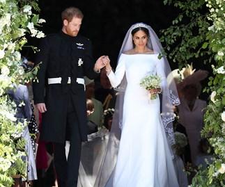 Meghan Markle and Prince Harry wedding.