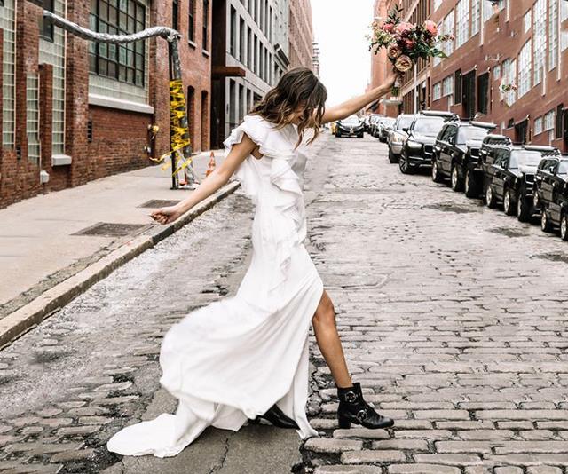 tomboy bridal inspiration