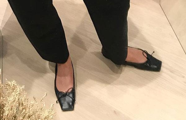 Ballet Flats 2018 Trend