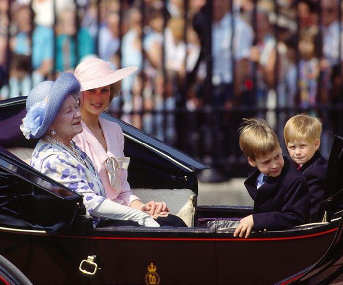 The Queen Mother.