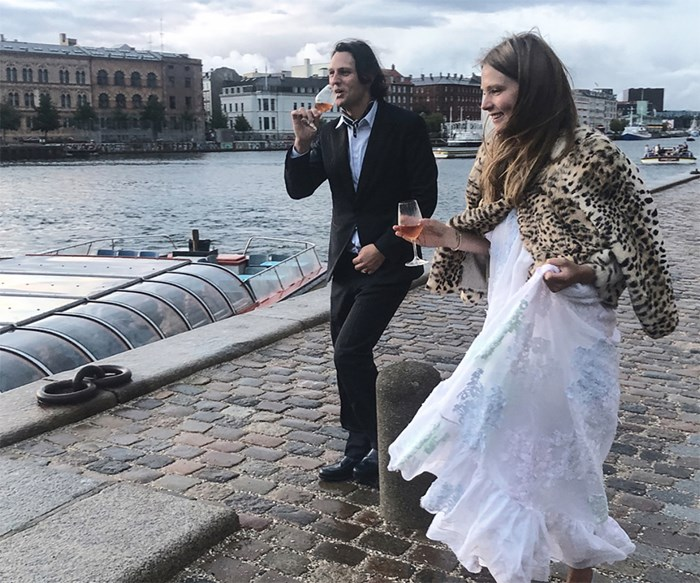 Caroline Brasch Nielsen wedding.