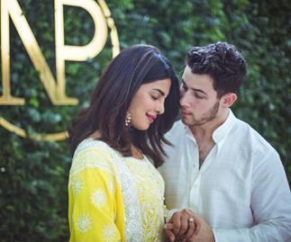 Priyanka Chopra and Nick Jonas.