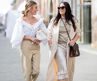 ELLE Australia Editors at Fashion Week.