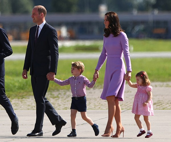 Prince William Kate Middleton Prince George Princess Charlotte
