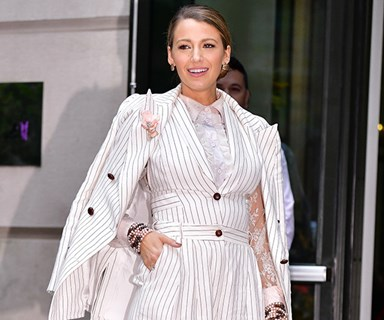 The Reason Blake Lively Keeps Wearing Suits