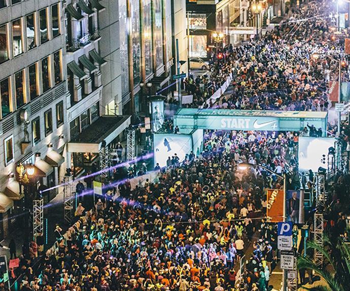 Nike Women's San Francisco half marathon