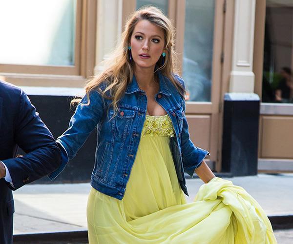 Blake Lively yellow dress