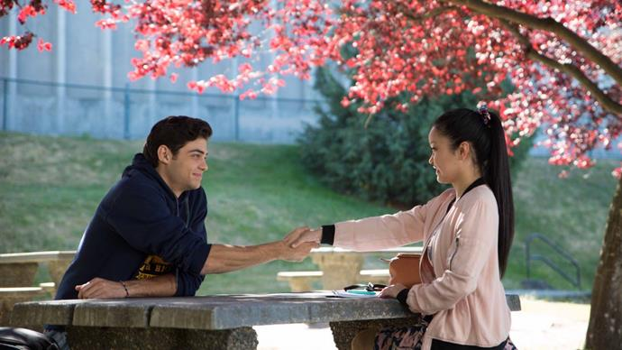 "Lana Condor On Co-star Noah Centineo: ""I've Never Felt Chemistry Like This"""