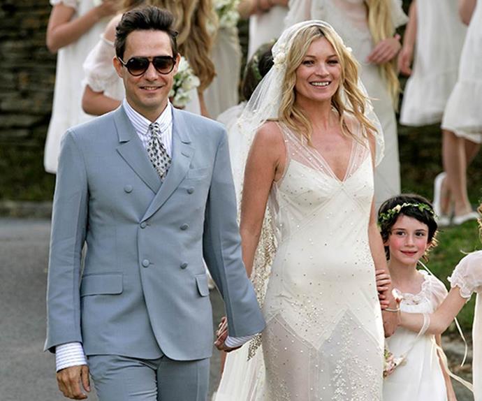 Kate Moss wedding.