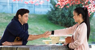 to all the boys i've loved before hot tub