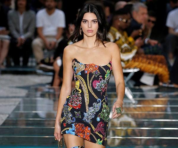 Kendall Jenner runway