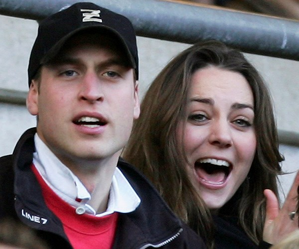 Prince William Kate Middleton young