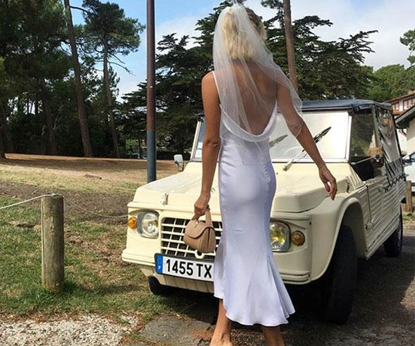 Fashion Blogger Influencer Wedding Dresses